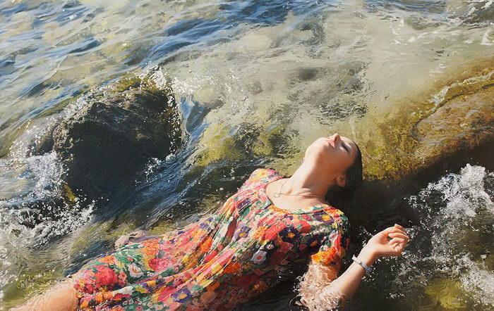 Гиперреалистичные картины Yigal Ozeri