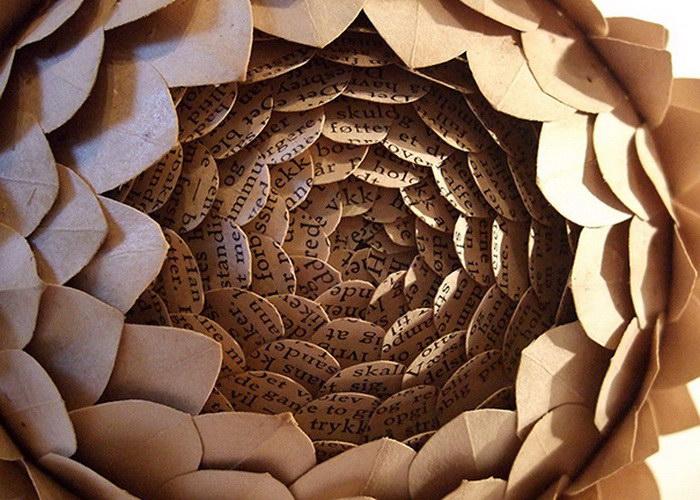 Бумажные скульптуры Cecilia Levy