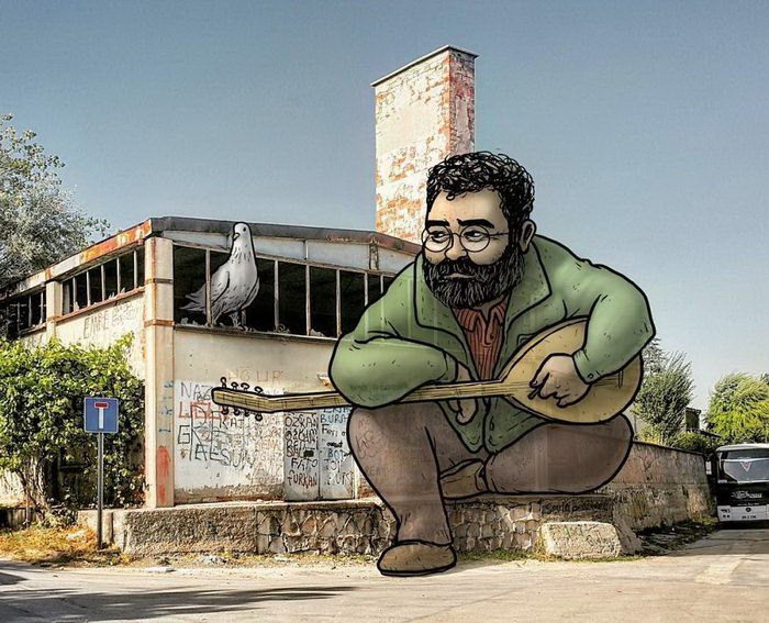 Гулливеры Турции в рисунках Hakan Keles