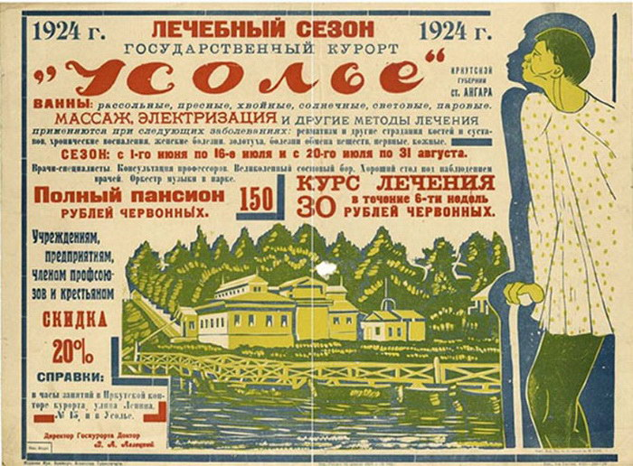 Плакаты СССР, посвященные туризму