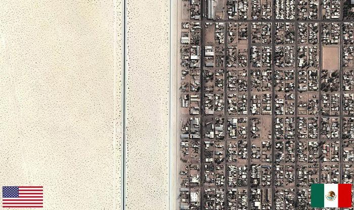 20 фотографий границ между государствами