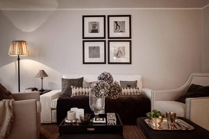 Двухкомнатная квартира в Стокгольме