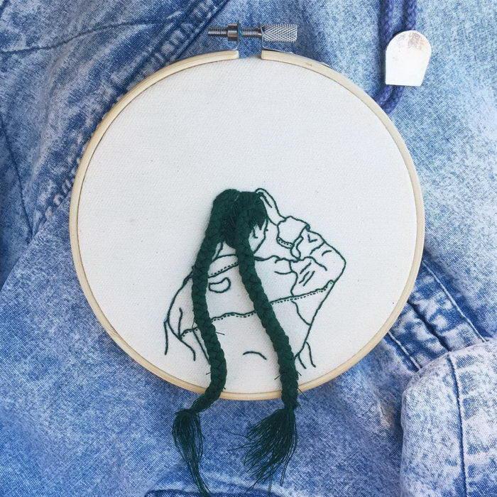 Красивые вышивки Sheena Liam