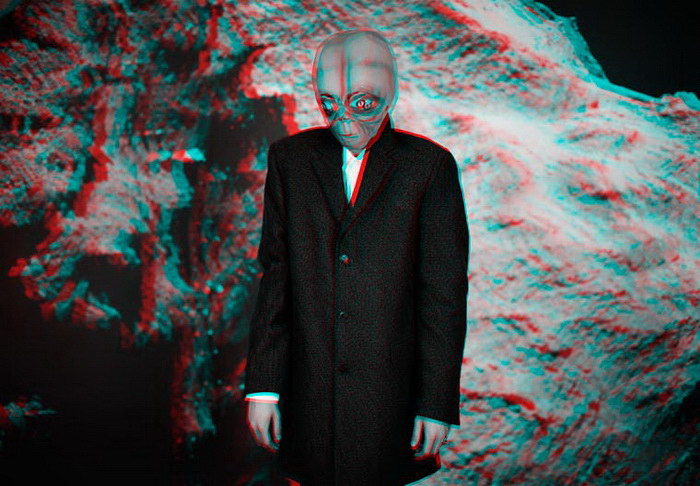Обычный день инопланетянина в фотопроекте Brice Krum