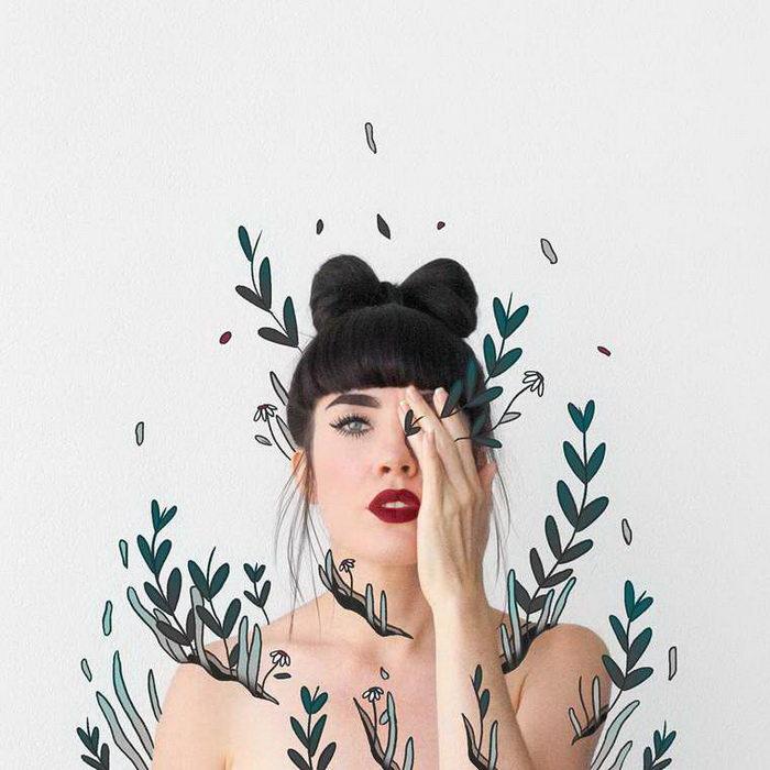 Смешные автопортреты Lauren Carney