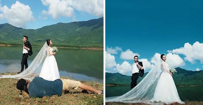 15 доказательств, что свадебные фотографы - отчаянные люди