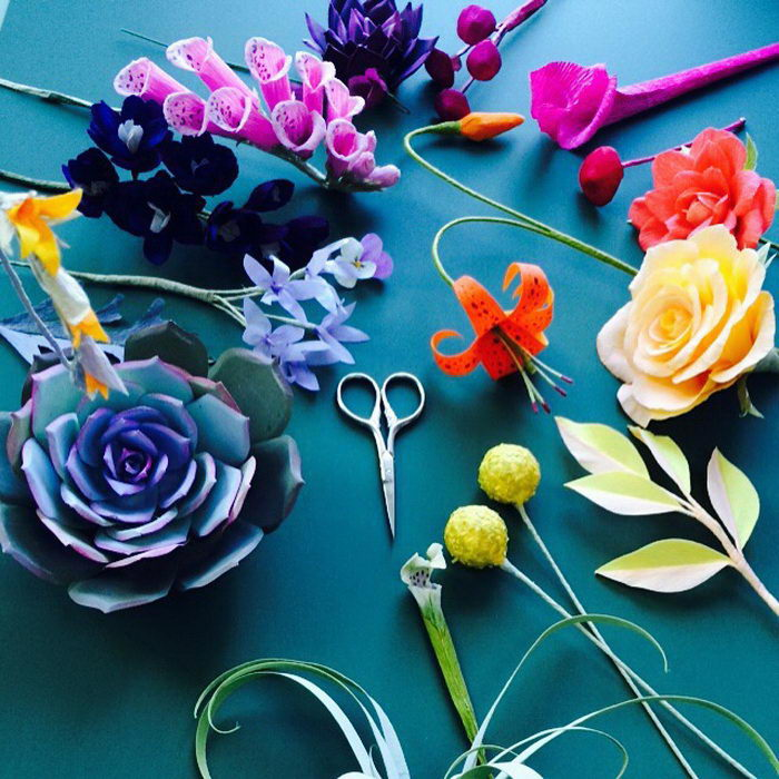 Цветы из бумаги Kate Alarc?n