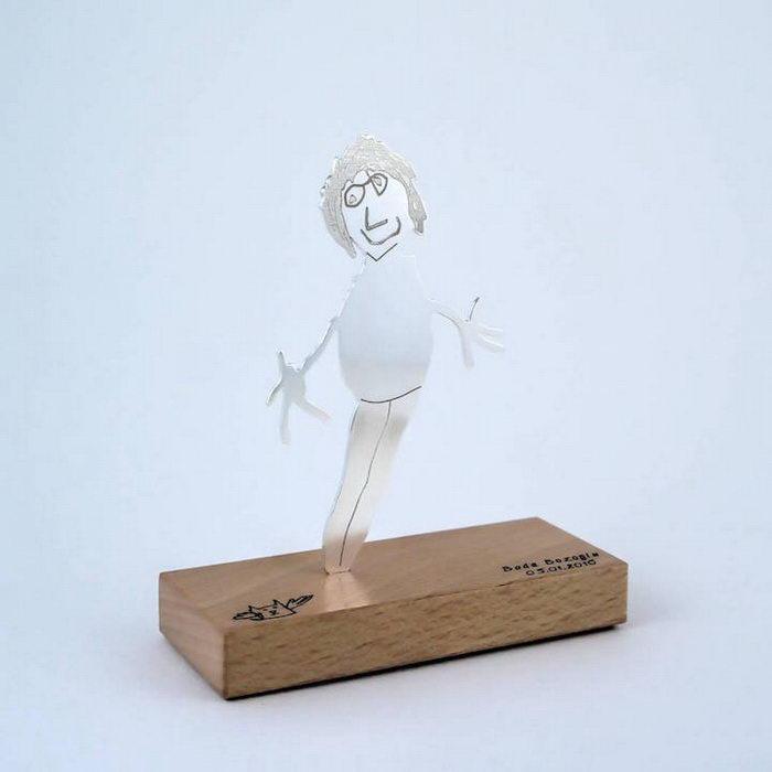 Tasarım Takarım: кулоны, выполненные по детским рисункам