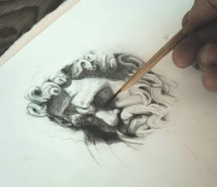 Интересные рисунки Mike Koubou