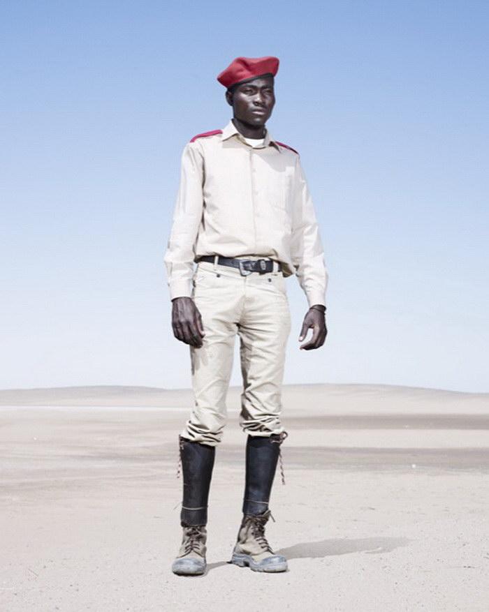 Африканская мода в фотографиях Jim Naughten