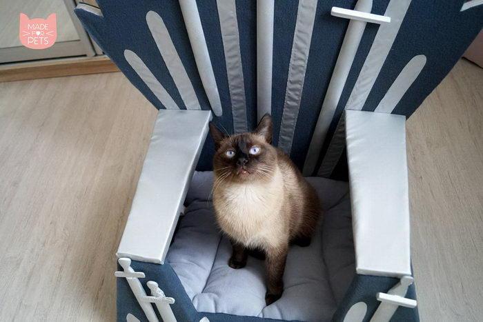 Железный трон для вашей кошки