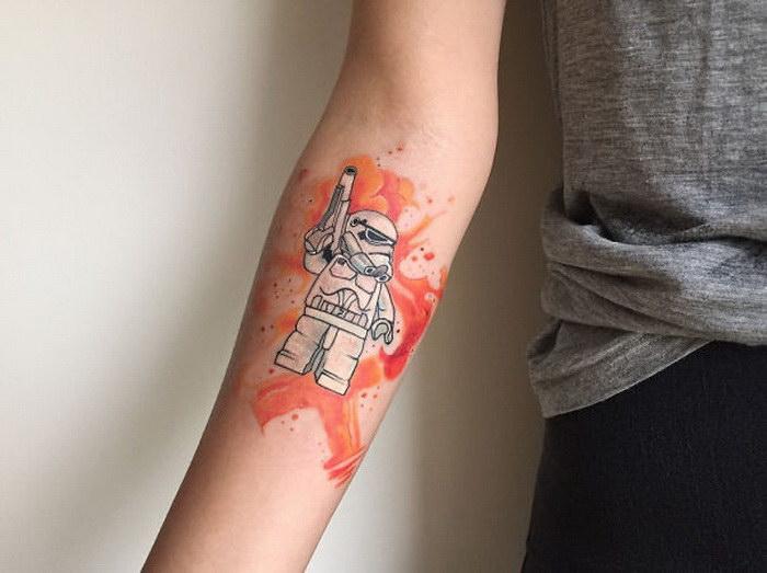 Нежные татуировки мастера Baris Yesilbas