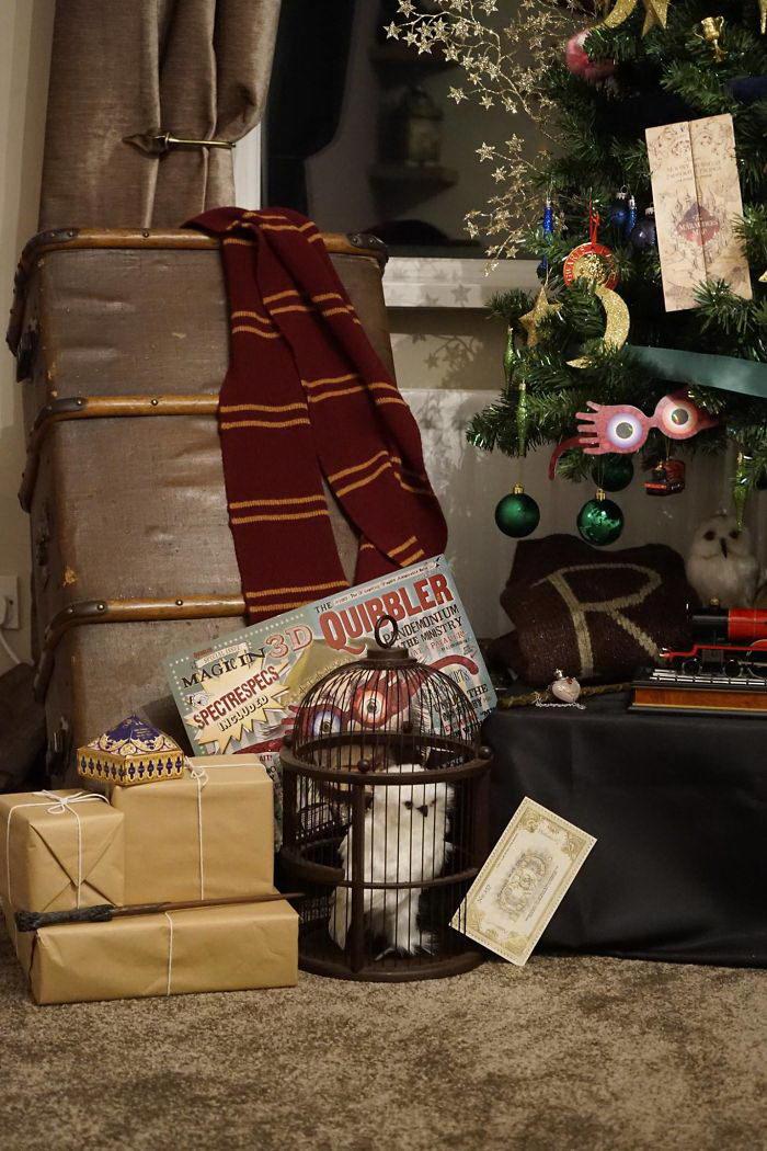 Новогодняя елка в стиле Гарри Поттера