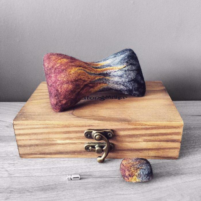 Необычные галстуки-бабочка Echo Ma