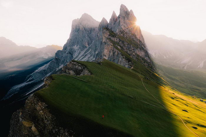 Аэрофотосъемка красот нашей планеты Matt Horspool