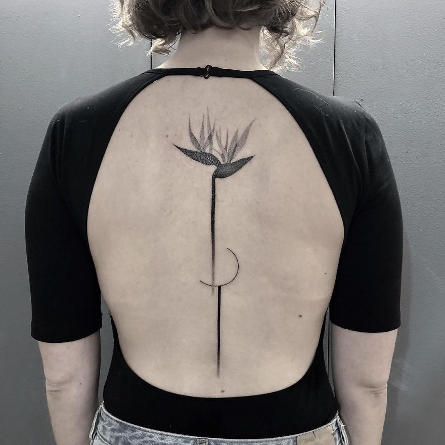 Необычные татуировки Marta Slawinska