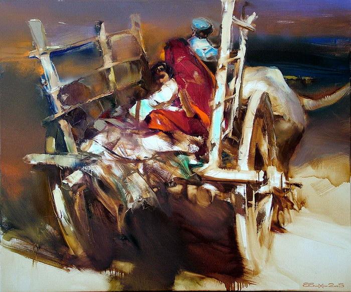 Картины Валерия Блохина