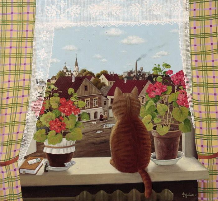 Картины Валентина Губарева