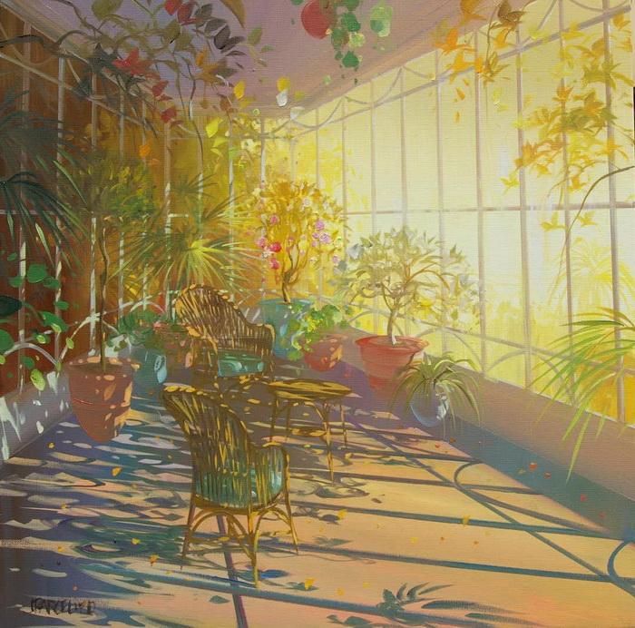 Солнечные картины Laurent Parcelier