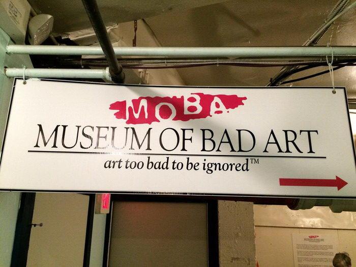 Музей плохого искусства: необычная галерея в Бостоне