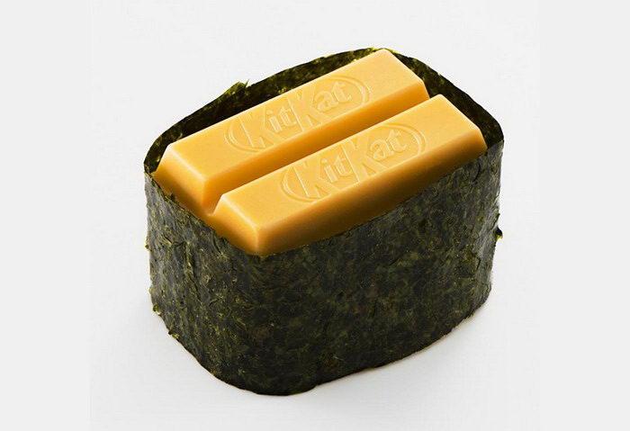 Шоколадные суши от компании Kit Kat
