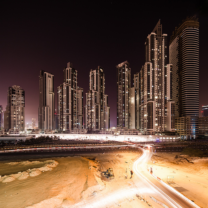 Дубай в фотографиях Jens Fersterra