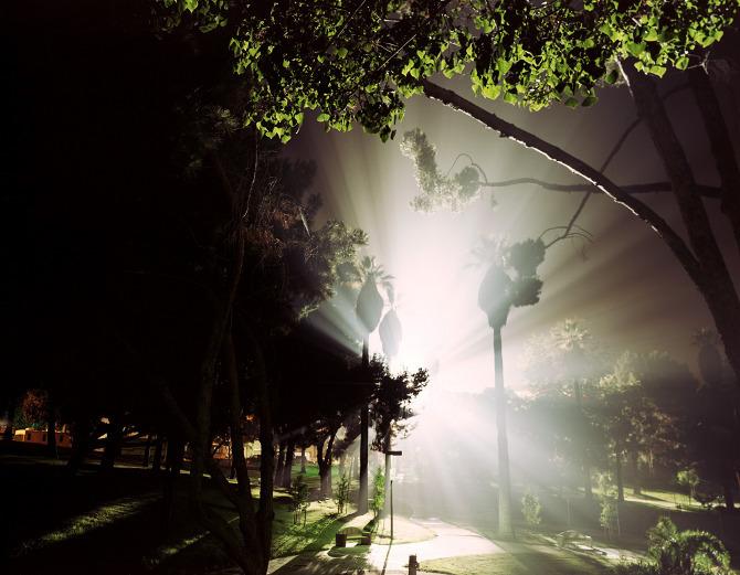 Ночные фото городов США Kevin Cooley