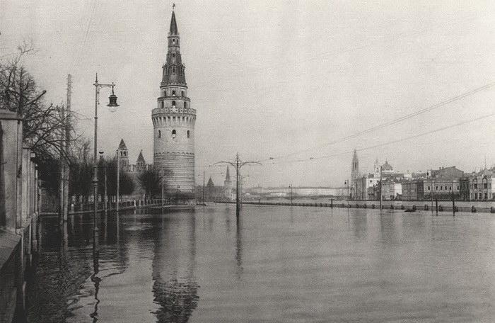 Редкие фотографии Москвы в 1920 годах
