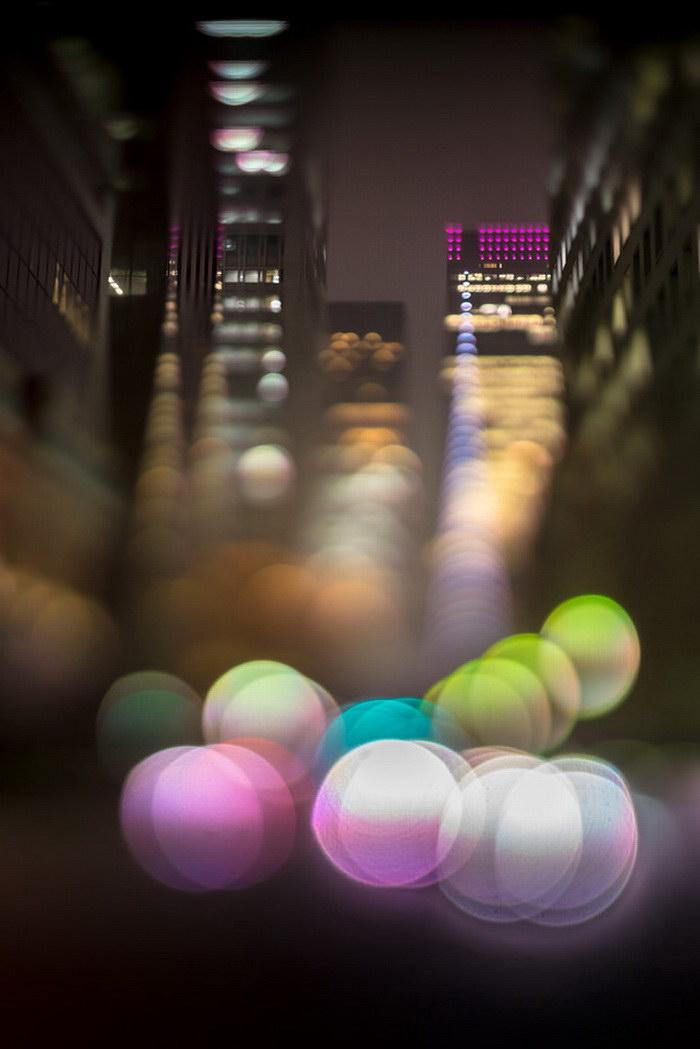 Ночной город в фотографиях Takashi Kitajima