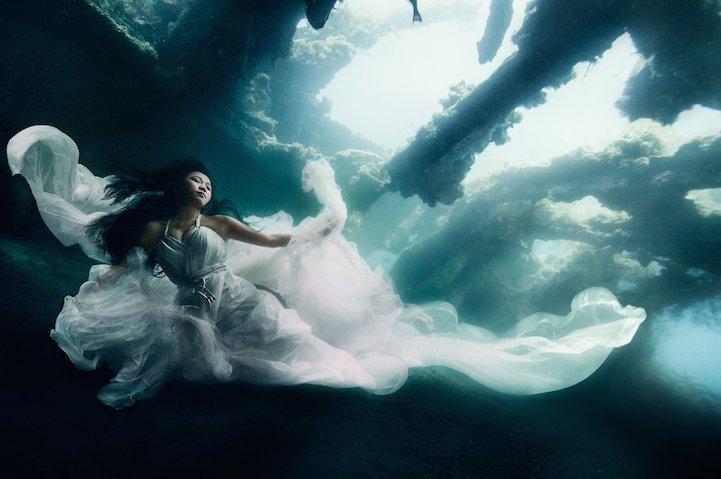 Подводные девушки