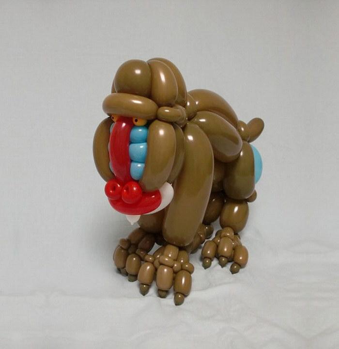 Скульптуры из воздушных шариков Masayoshi Matsumoto
