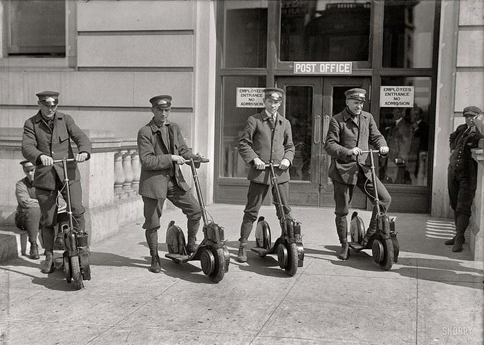 20 исторических черно-белых фотографий в цветном варианте