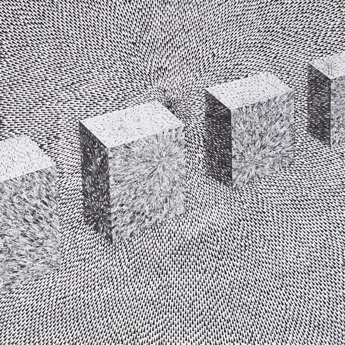 Абстрактные и архитектурные коллажи Lola Dupre