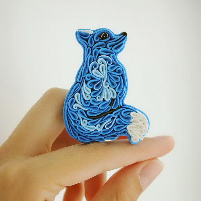 Необычные создания из полимерной глины Alisa Laryushkina