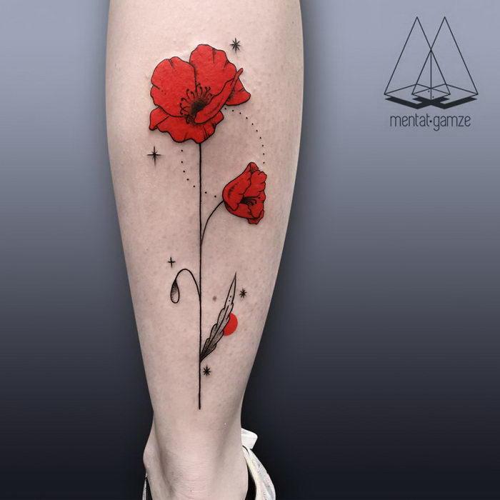 Лаконичные татуировки Mentat Gamze