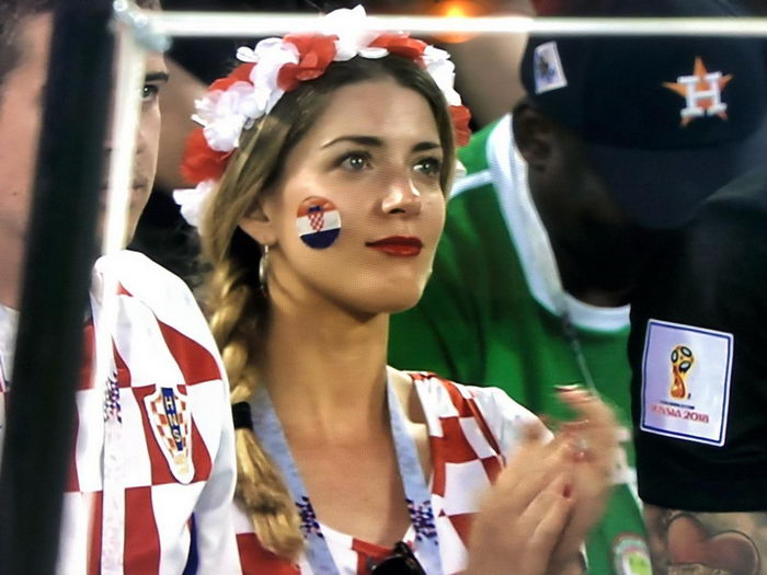 Красивые болельщицы Чемпионата Мира по футболу 2018