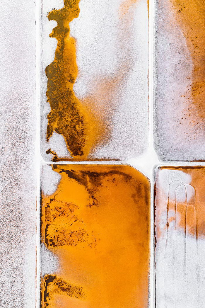 Добыча соли в аэрофотографиях Tom Hegen