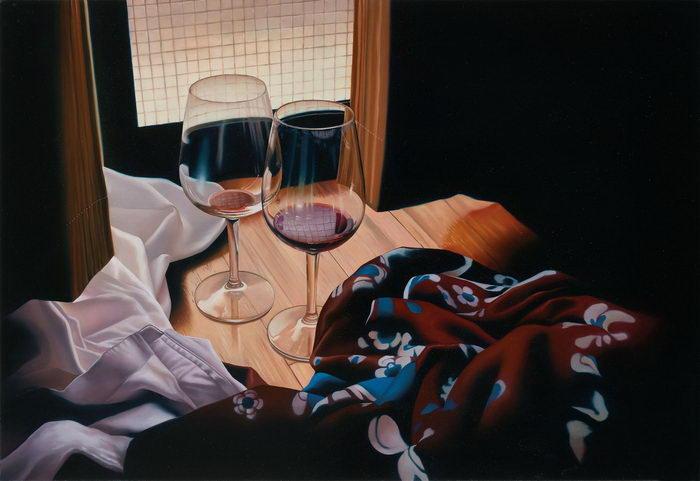 Бытовая живопись Tomona Matsukawa