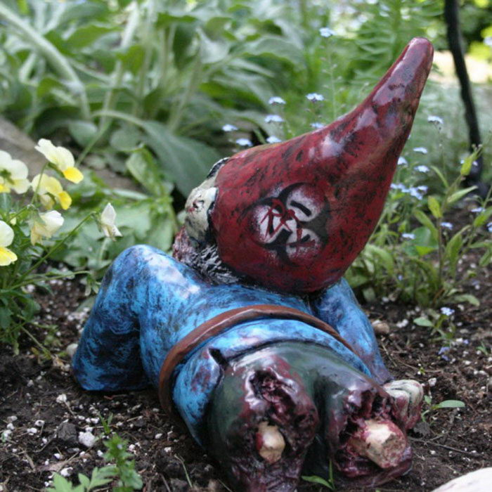 Зомби-гномы для вашего сада