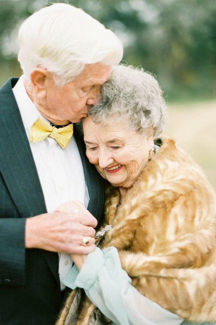 63 годовщина свадьбы в фотографиях Shalyn Nelson