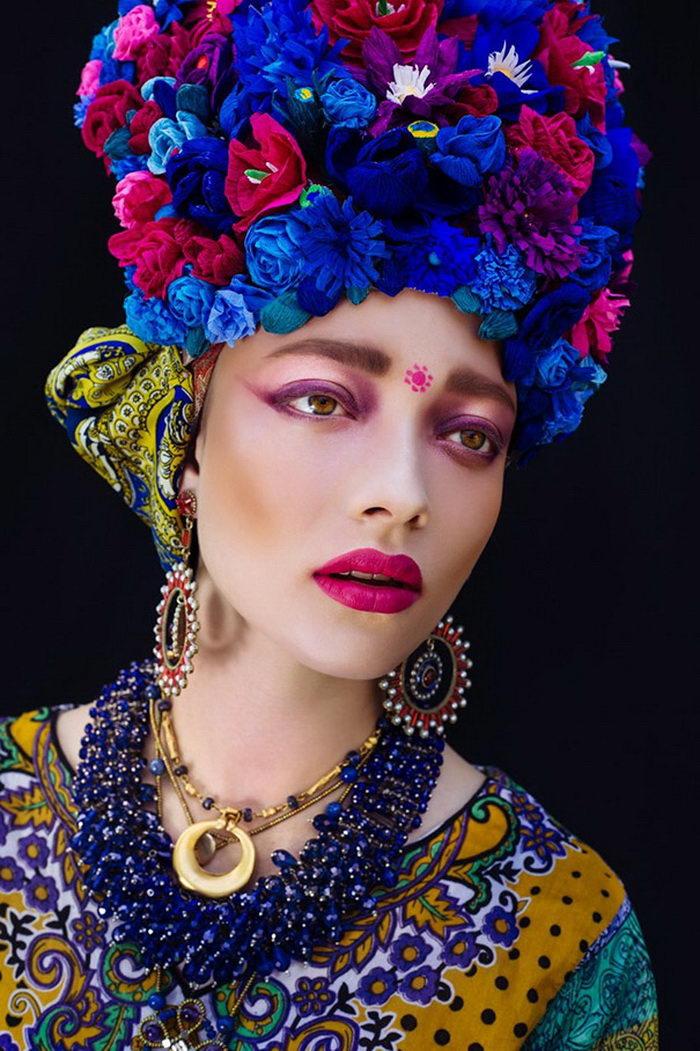 Польская культура в цветочных портретах: фото Ula K?ska