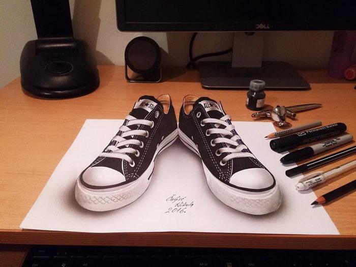 Обалденные 3D-рисунки Nikola ?ulji?