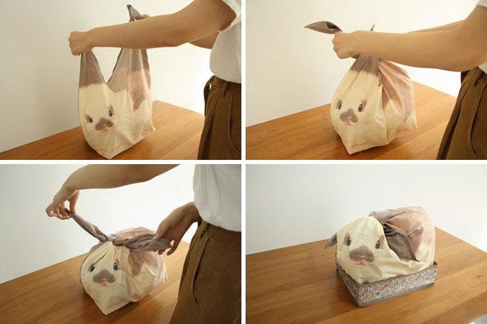 Сумки в виде кроликов для важных домашних мелочей