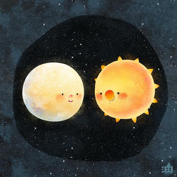 Милые и очаровательные иллюстрации Little Oil Art
