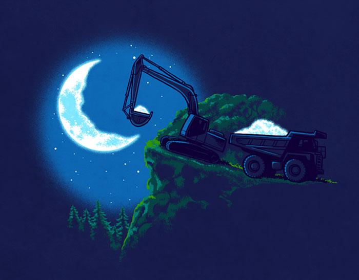 Веселые иллюстрации Ben Chen