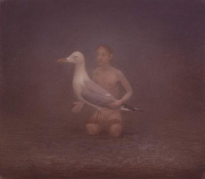 Мрачноватые картины Hessel Miedema