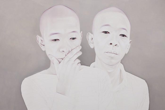 Грустные люди в картинах Sungsoo Kim