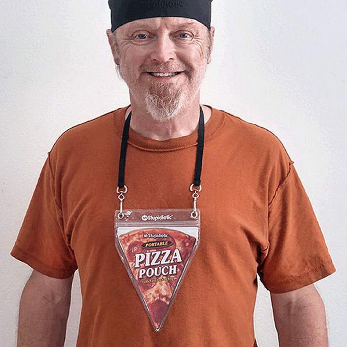 Кулон на шею для любителей пиццы