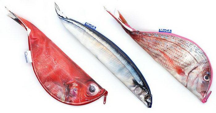 Пеналы в виде рыб Keiko Otsuhata
