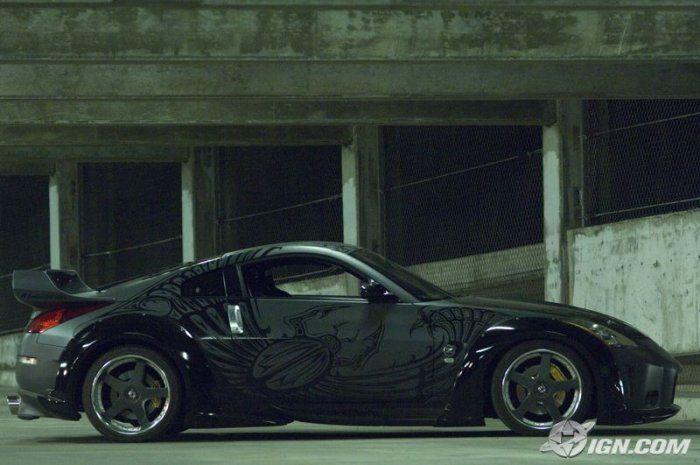 Машины из фильма «Форсаж 3»